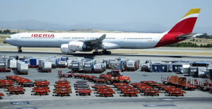 Iberia transporta carga sanitaria de China a América
