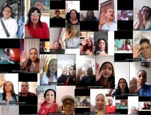 ESPAÑA: PRM juramenta Comando Federal de la Mujer en Europa