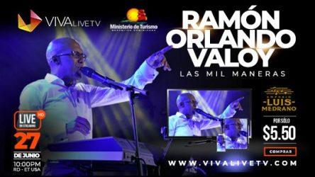 """Ramón Orlando anuncia para este sábado concierto """"Las Mil Maneras"""""""