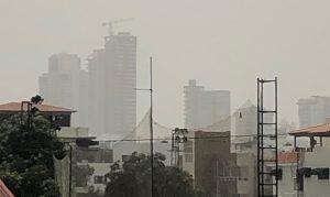 Se intensifica acumulación de polvo del Sahara en ciudades dominicanas