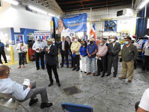 Expresidente federal PRD encabeza acto en NY en favor de Luis Abinader