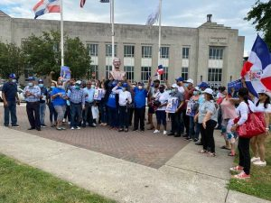 N. JERSEY: PRM cierra campaña con multitudinaria caravana en Paterson