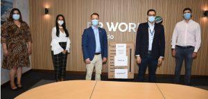 DP World Caucedo dona máquinas de ventilación artificial y anestesia