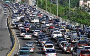 El parque vehicular de la RD se incrementa un 267.87% en 19 años