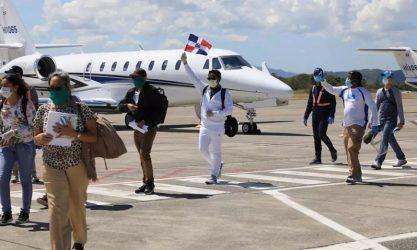 Llegaron otros 134 dominicanos que estaban varados en tres países