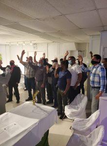 HALEZTON: Juramentan Junior Reyes en el sector externo con Leonel