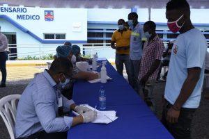 Caasd y Salud Pública realizan pruebas rápidas de coronavirus a empleados