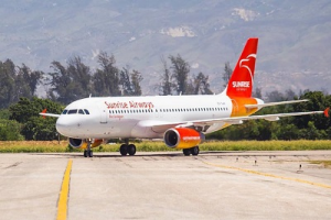 Sunrise Airways reanudó sus vuelos  Santo Domingo-Puerto Príncipe