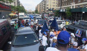 NUEVA YORK: PRM cierra campaña con caravana  en el Alto Manhattan