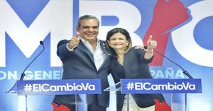JCE declara oficialmente ganadores elecciones a Abinader y Raquel Peña