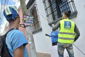 Alcaldía del DN retira propaganda política colocada durante campaña