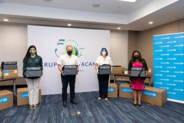 UNICEF y Grupo Punta Cana donan9 ventiladores hospitales del Este