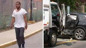 Conductor muere tras choque con ladrón dominicano huía de la Policía