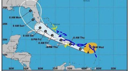 Puerto Rico, Republica Dominicana, Cuba y Florida, en la mira de «Nueve»
