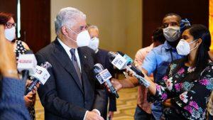Miguel Vargas aboga por un pacto de respeto a los resultados electorales