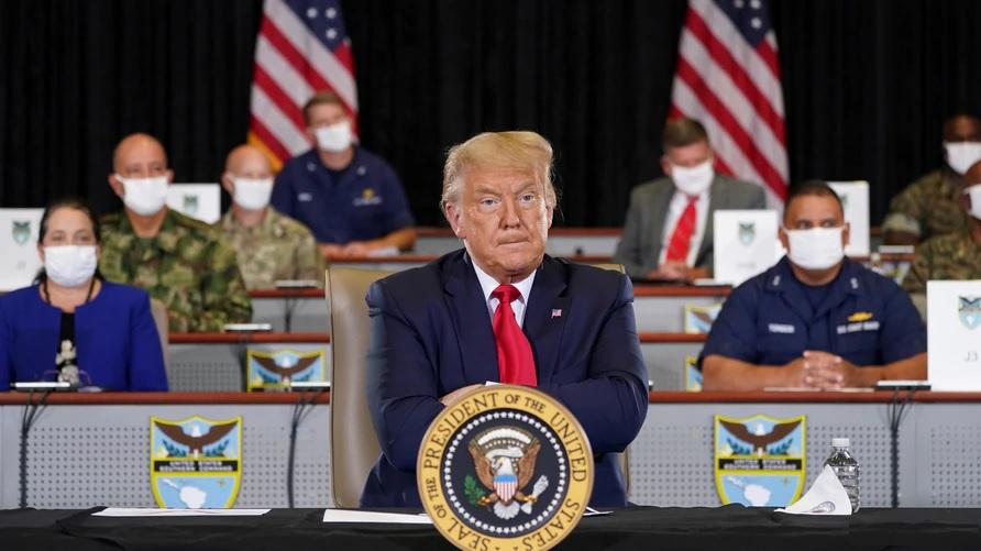 Donald Trump llega a Miami para reunión con cubanos y venezolanos
