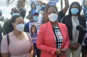 Candidata a diputada Anny Mambrú denuncia sustracción de votos