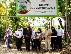 Inauguran Banco de Germoplasma ayudará seguridad alimentaria