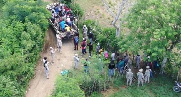 CESFRONT detiene cientos haitianos  indocumentados ingresando a la RD