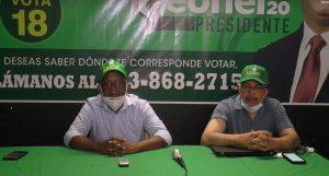 Partido FP denuncia exclusión de 17 mil votantes de padrón de la JCE