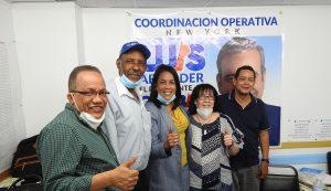 Comando campaña PRM NY califica de «trascendental» triunfo Abinader