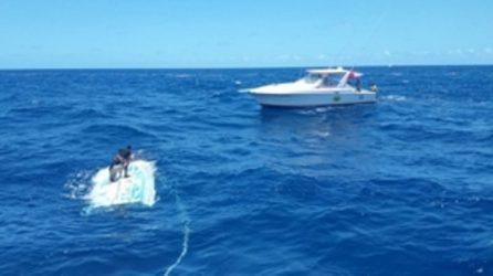 Guardia Costera rescata a dominicano en aguas cerca de Puerto Rico
