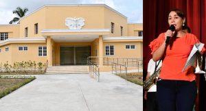 SAN CRISTOBAL: EGEHID entrega renovado Liceo Musical Pablo Claudio