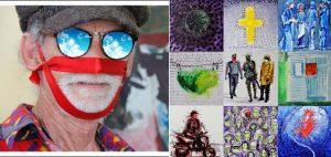 """Con la colectiva """"Mascarilla"""" artistas visuales recrean situación COVID-19"""
