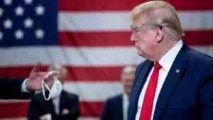 Trump llevará máscara por primera vez ante repunte de contagios en EE.UU.