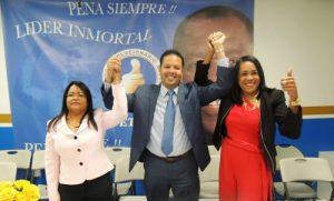 Candidatos a diputados de ultramar del PRM encabezan los resultados