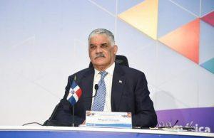 Canciller RD propone en OCDE pacto reactivación socioeconómica países
