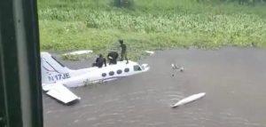 Venezuela inutiliza aeronave que llegó procedente de R. Dominicana