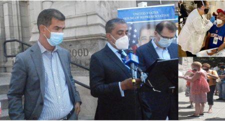 NUEVA YORK: Adriano Espaillat instala centro para pruebas de COVID-19