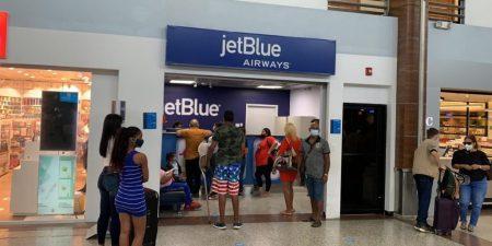 JetBlue cancela 18 vuelos entre EU-RD programados para sábado y domingo