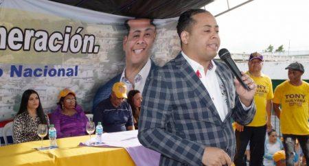 Tony Guevara anuncia se va del PLD tras varios días de reflexión personal