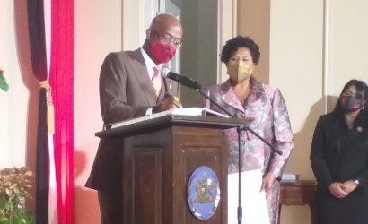 R. Dom. participa en toma posesión Primer Ministro de Trinidad y Tobago