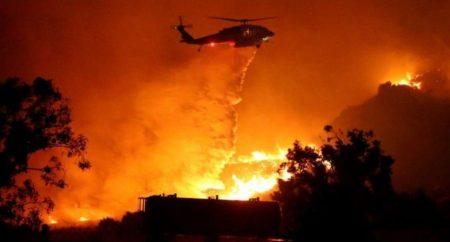 CALIFORNIA: Temporal da un respiro y permite progresos contra el fuego