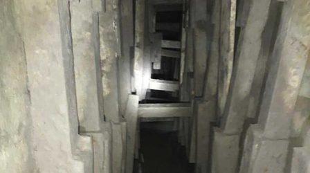Hallan tunel entre México y Estados Unidos construido bajo el Río Bravo