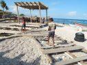 La playa El Quemaíto, en la costa de Barahona, está en deterioro
