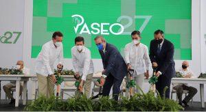 Abinader encabeza primer palazo para construir plaza comercial SDO