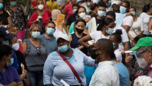 Reportan 25 muertes por COVID-19 y 233  casos nuevos en Dominicana