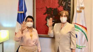 Juramentan a Lourdes Batista como comisionada dominicana Cultura EU