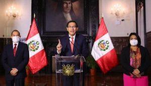 PERU: El Congreso aprobó debatir la destitución del presidente Vizcarra