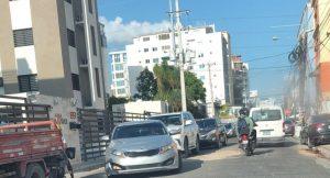 Hay un progresivo deterioro de calles céntricas de ciudad Santo Domingo