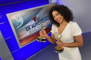 Periodista dominicana gana premios Emmy por su labor en Telemundo
