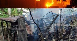 PUERTO PLATA: Envejeciente muere al incendiarse su vivienda en Montellano