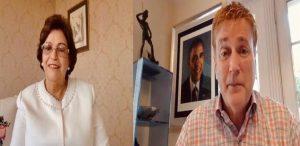 Exembajador de Estados Unidos Wally Brewster llama a votar por Joe Biden
