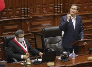 PERU: Congreso rechaza destitución del presidente Martín Vizcarra