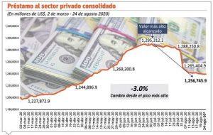 Sector privado ha recibido préstamos por RD$41,000 MM durante pandemia