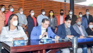 Regidores del PLD piden a Abinader asumir obras desarrollo para Santiago
